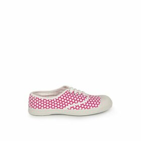 Polka Dot Lace-Up Trainers