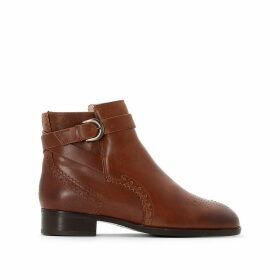 Netley Olivia Leather Ankle Boots