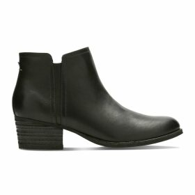 Maypearl Ramie Leather Ankle Boots