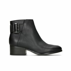 Elvina Dream Leather Ankle Boots