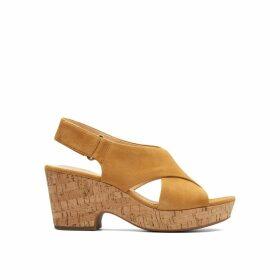 Maritsa Lara Suede Sandals