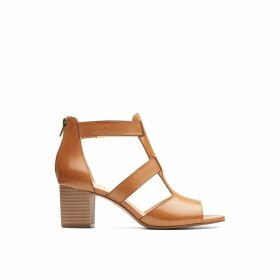 Deloria Fae Leather Sandals