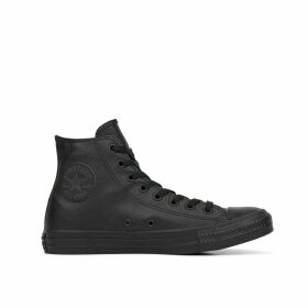 Chuck Taylor All Star Mono Leather High Top Trainers