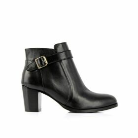 Postiche Leather Ankle Boots