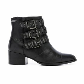 Waterloo Leather Ankle Boots
