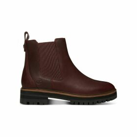 Leather London Square Chelsea Boots