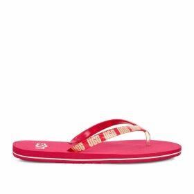 Simi Graphic Flip Flops