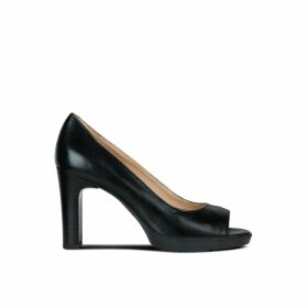 Annya Leather High Heels
