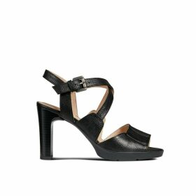 Annya High Leather Sandals