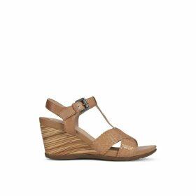 D Dorotha Leather Sandals