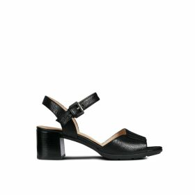 D Marykarmen Mid San Leather Sandals