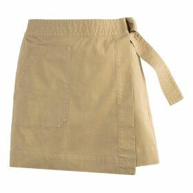 Wrapover Mini Cargo Skirt