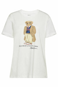 Polo Ralph Lauren Bear Printed Cotton T-Shirt