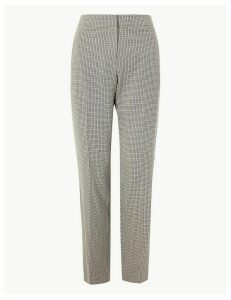 M&S Collection Dogtooth Checked Suit Trousers