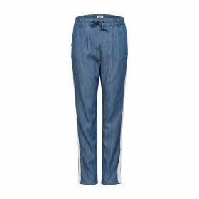 Straight Leg Trousers with Elasticated Waist