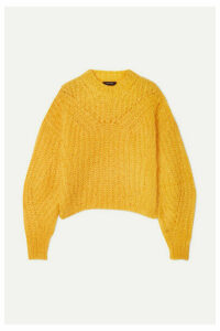 Isabel Marant - Inko Mohair-blend Sweater - Mustard