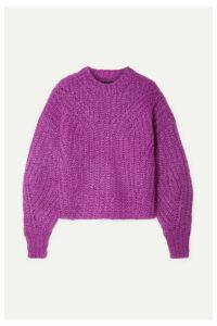 Isabel Marant - Inko Mohair-blend Sweater - Magenta