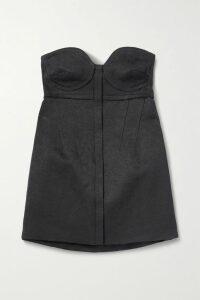 rag & bone - Oasis Crinkled-voile Dress - Burgundy
