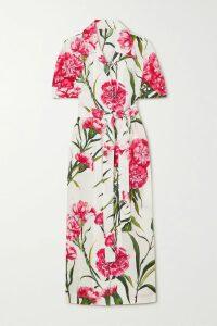 Jil Sander - Gathered Crinkled-habotai Maxi Dress - FR46