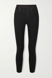 Nili Lotan - June Ribbed Merino Wool-blend Sweater - Black
