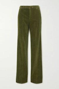 RIXO - Zhandra Floral-print Silk Crepe De Chine Midi Dress - Black
