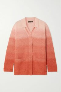Vince - Runner Rib-trimmed Cashmere Sweater - Blue