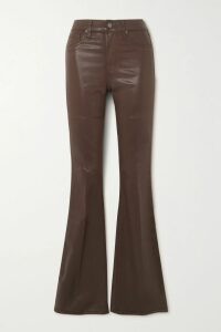 Ulla Johnson - Antoine Pussy-bow Floral-print Fil Coupé Silk-blend Chiffon Blouse - Black