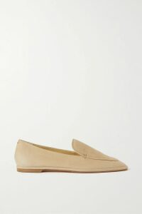 Ulla Johnson - Ida Ruffled Printed Metallic Cotton-blend Top - Beige