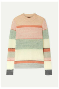 Missoni - Striped Knitted Sweater - Pink