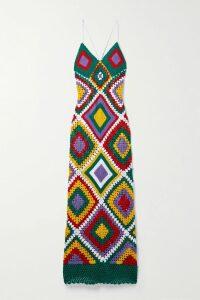 Miu Miu - Tie-detailed Sequined Crepe Blouse - Black