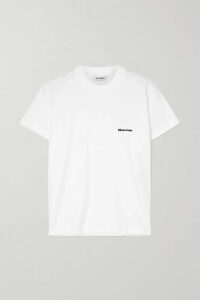 Sea - Rowan Double-breasted Checked Woven Blazer - Gray