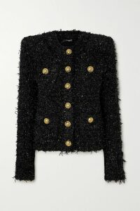 Sally LaPointe - Crinkled-satin Top - Gray green