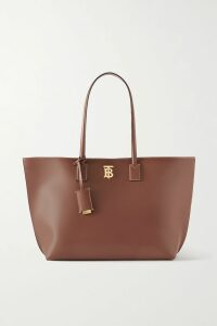 Ulla Johnson - Dune Smocked Printed Cotton-blend Blouse - Brown