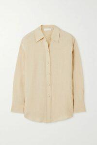 Giuliva Heritage Collection - Karen Herringbone Wool Blazer - Sand