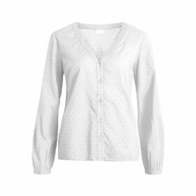 Vidottas Buttoned Long-Sleeved Blouse