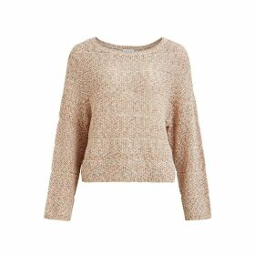Vikylie Fine Knit Crew Neck Jumper