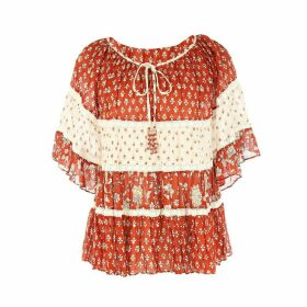 Reconfort Boho Ruffled Blouse