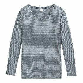 Linen Breton Striped T-Shirt