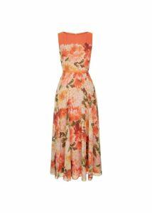 Carly Dress Orange Multi