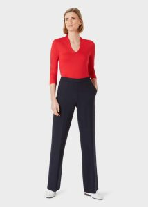 Eliza Blouse Burnt Orange 18