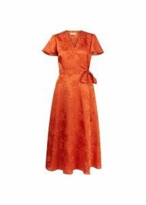 Eleanor Dress Orange