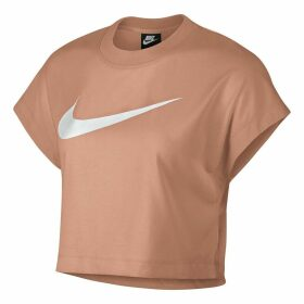 Short-Sleeved Crew Neck Logo T-Shirt