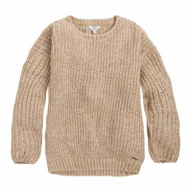 Crew Neck Fine Gauge Knit Jumper