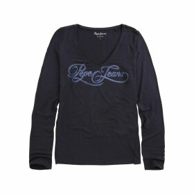 Marlène Printed Long-Sleeved T-Shirt