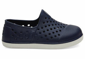 Navy Eva Tiny TOMS Romper Slip-Ons Shoes - Size UK9