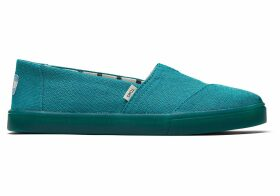 TOMS Green Lake Heritage Canvas Women's Cupsole Classics Venice Collection Slip-On Shoes - Size UK7.5