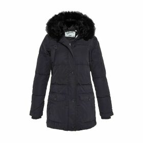 Mid-Season Hooded Mid-Length Parka