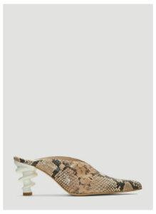 Kalda Cyland Mules in Brown size EU - 40