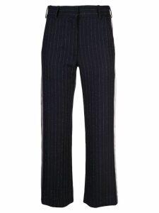 Sies Marjan Bexley pinstripe cropped trousers - Blue