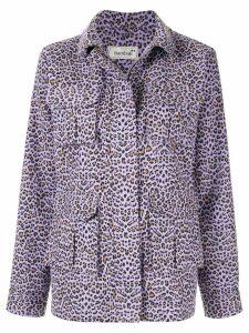 Bambah Leopard jacket - PURPLE